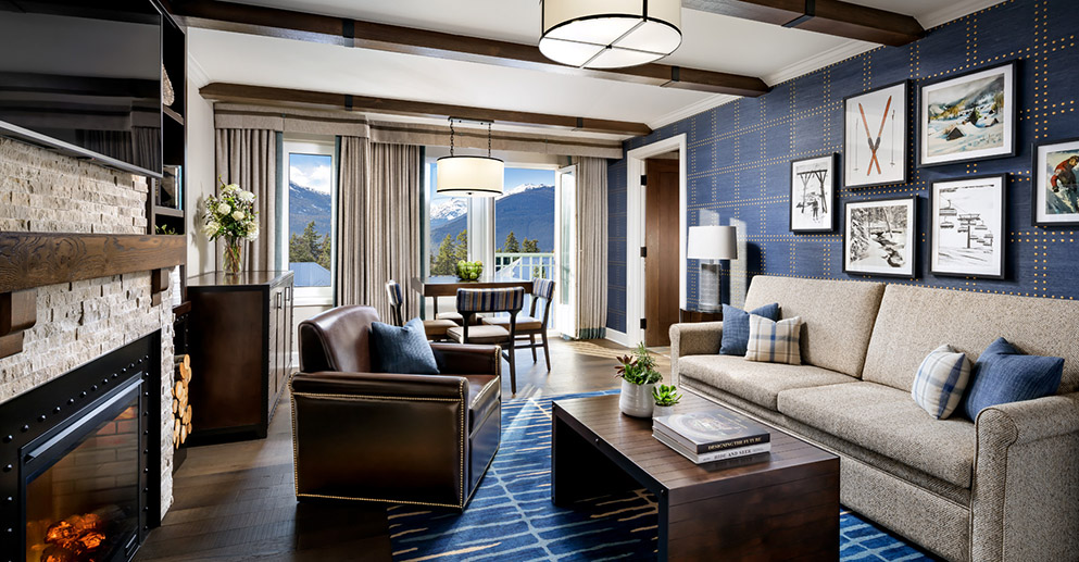 One Bedroom Valley View Suite | Luxurious Accommodation | Whistler Upper Village | Image: Brandon Barre